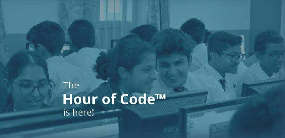 Progate calling students to volunteer for Hour of Code 2